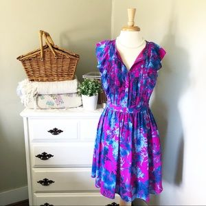 Banana Republic midi floral summer dress